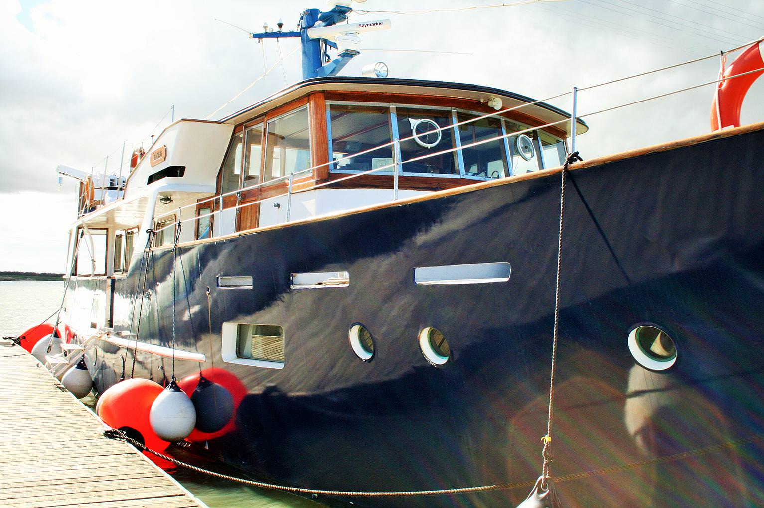 Falcao Uno – a gentleman's yacht with a long history