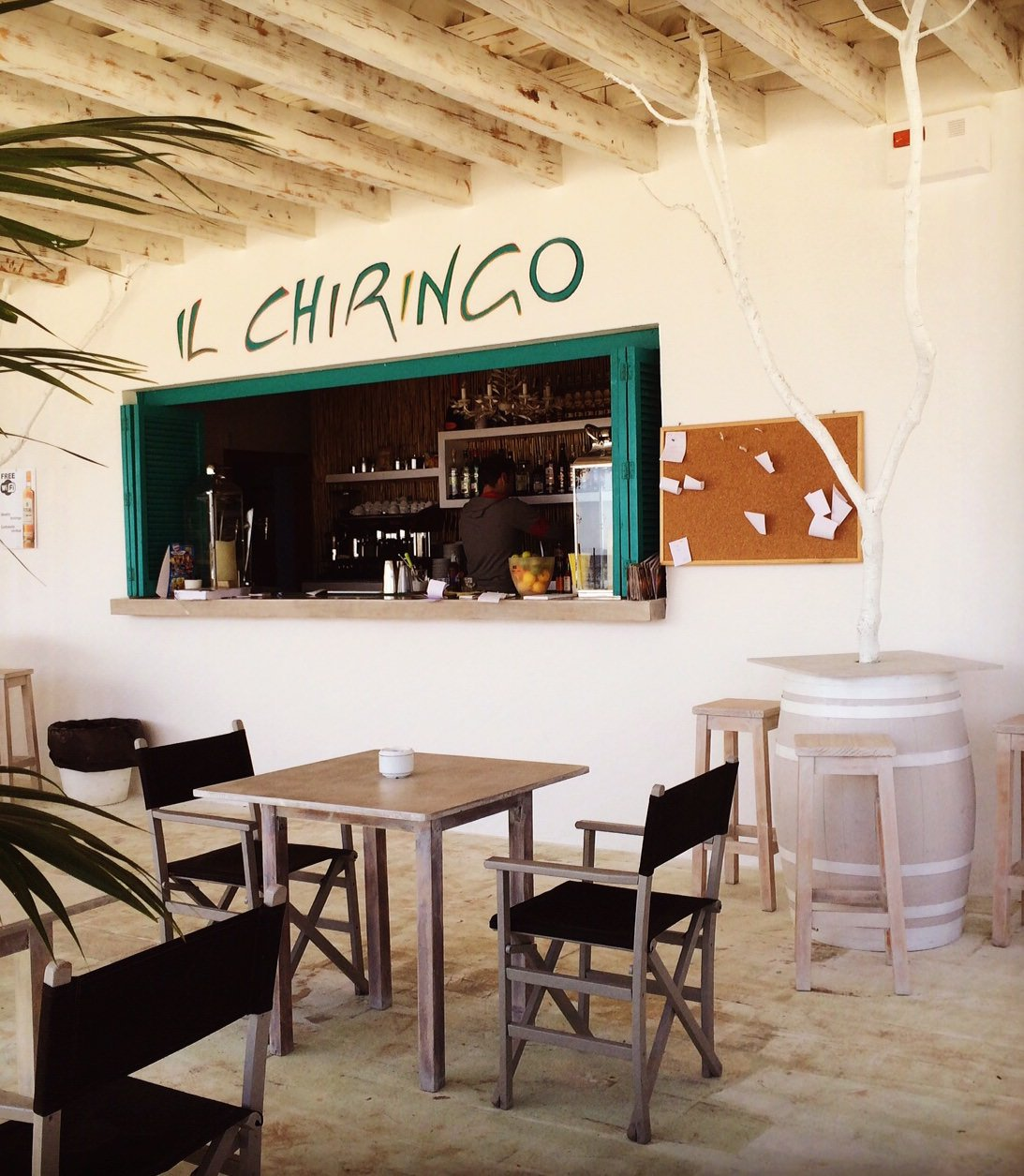 Beach bar with cult status – Il Chiringo in Palmanova