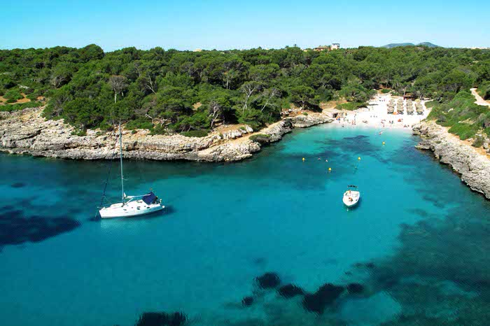 Our favorite cove near Cala d'Or – Cala Sa Nau
