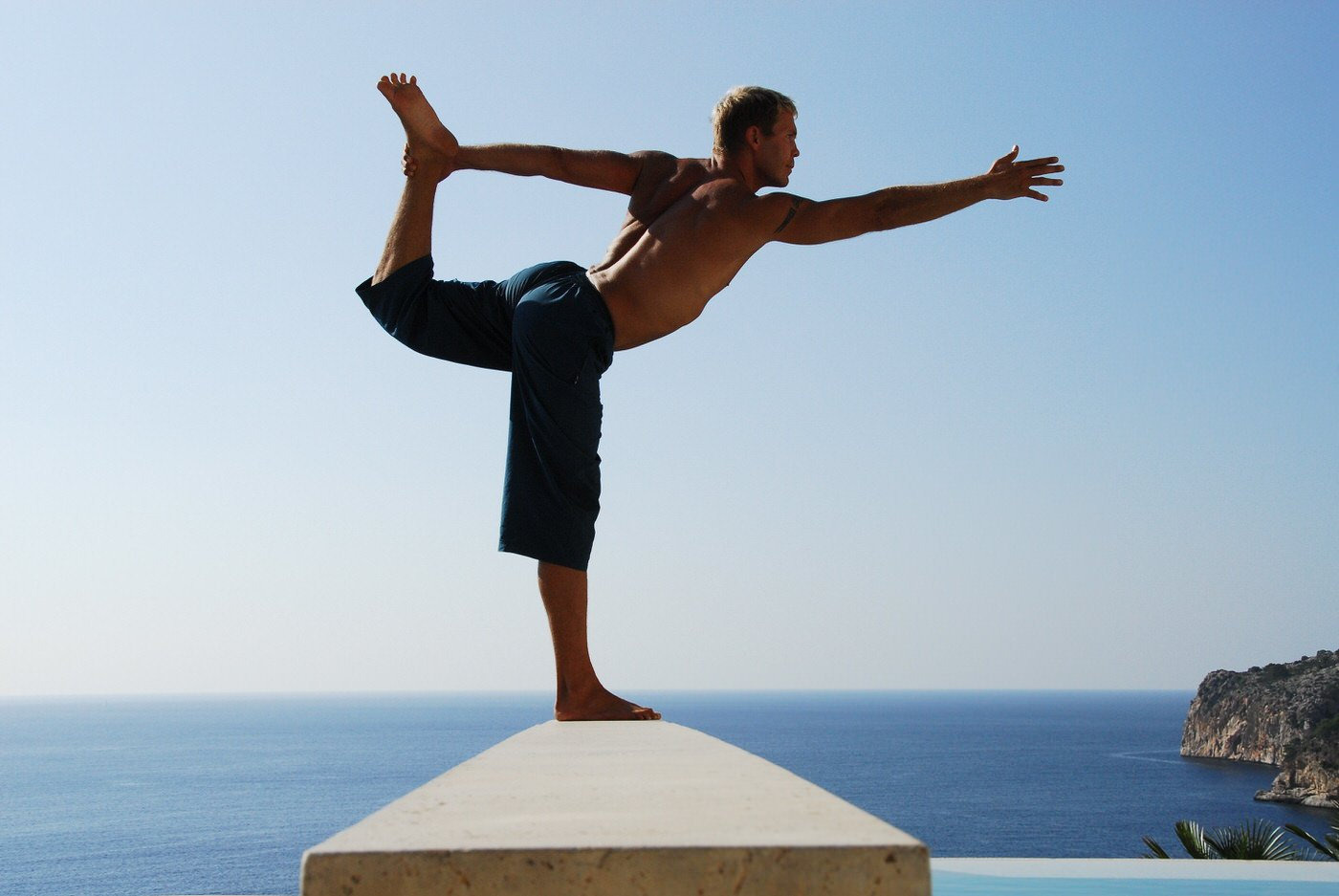 Personaltraining & Yoga in Mallorca with Frank-André Berkel