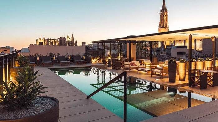 City Hotels in Palma at No. 1 with European tourists