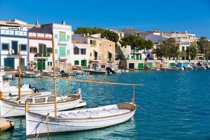 One of our highlights in the South East – the enchanting harbor Portocolom
