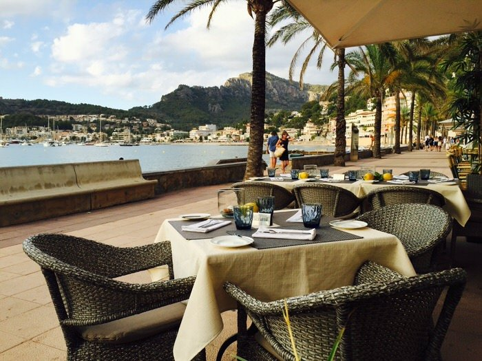 Our tip for the West coast: Restaurant Es Passeig in Port Soller