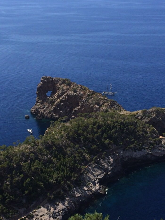 An excursion to the Hole Rock – Sa Foradada