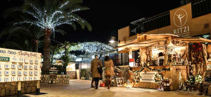 Every year again – Christmas Market in Puerto Portals