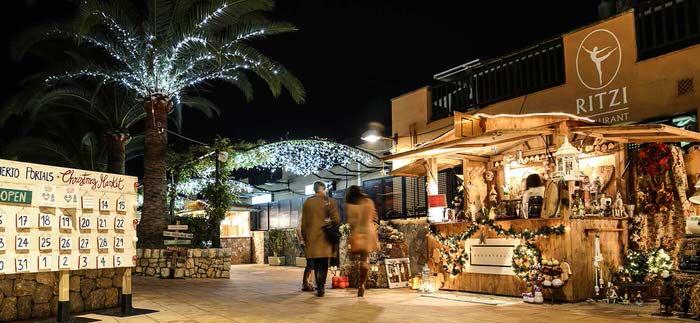 Alle Jahre wieder – Weihnachtsmarkt in Puerto Portals