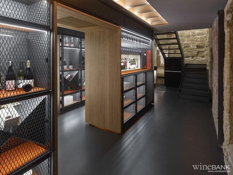Die erste wineBank in Spanien