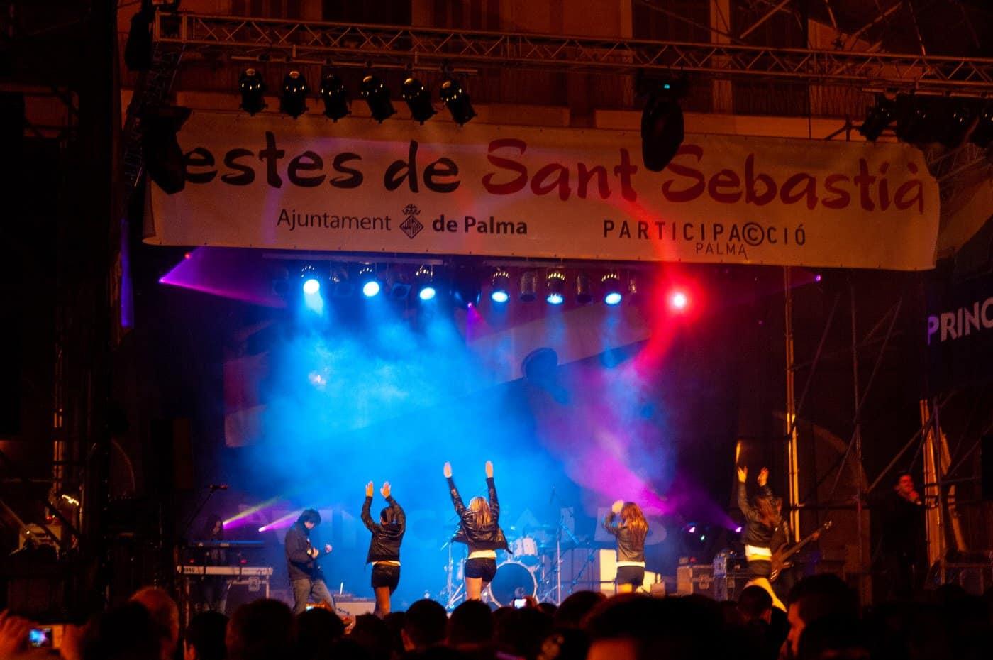 Ordentlich was los im Januar in Palma – Fiesta Sant Sebastián
