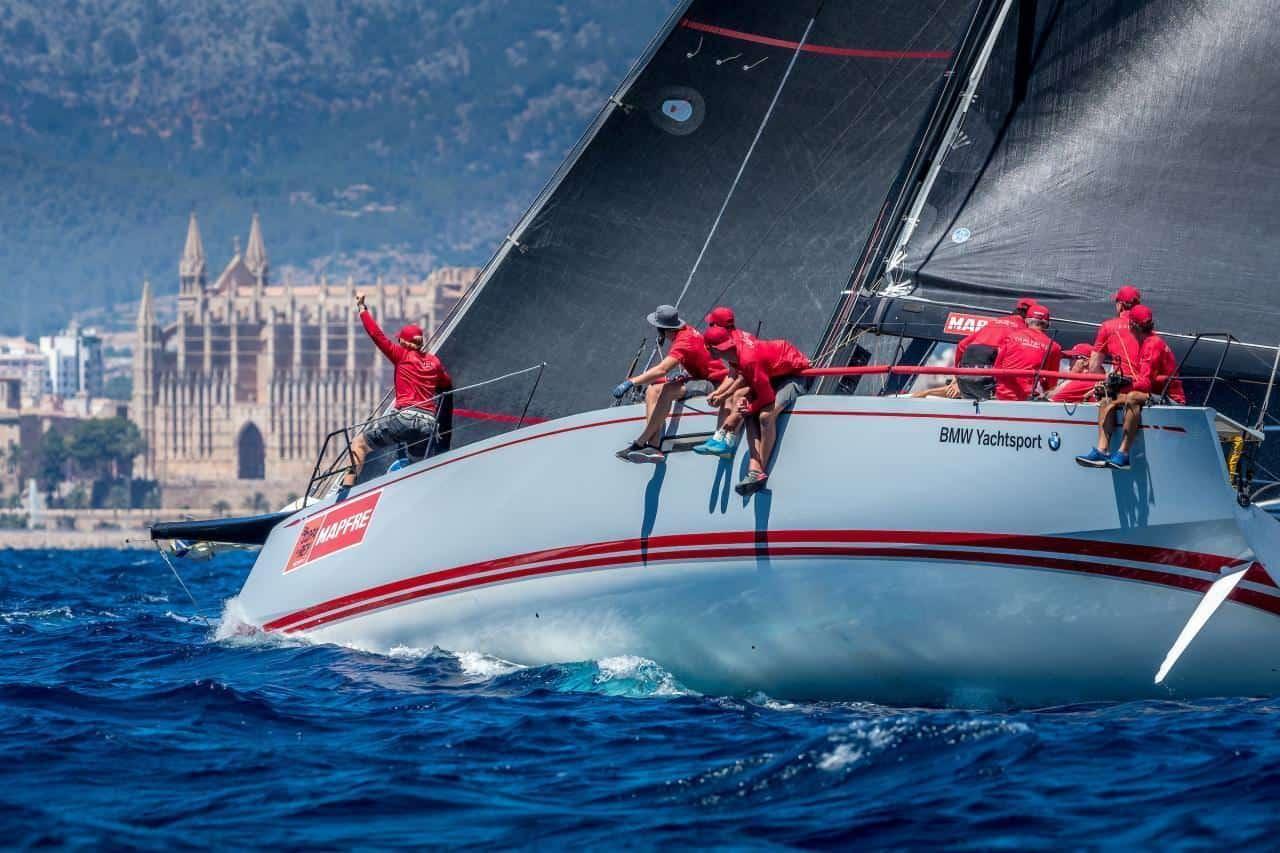 "Segelregatta ""Copa del Rey"" – 2 Könige gegen 3 deutsche Skipper"