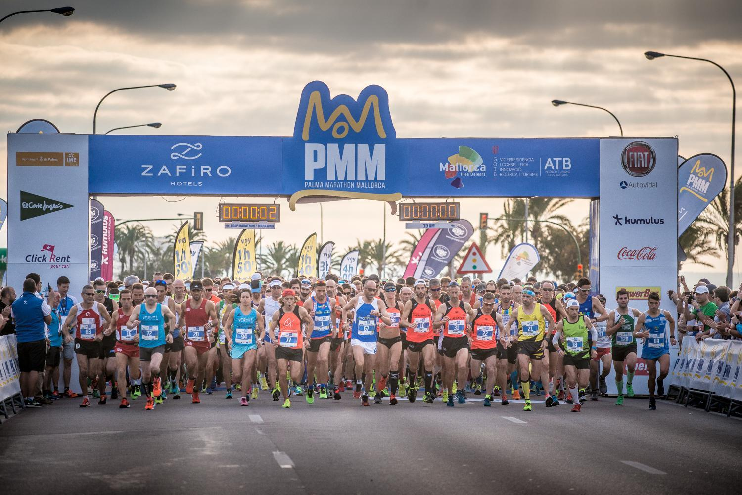 Palma is running – Zafiro Marathon Mallorca on 13th of October