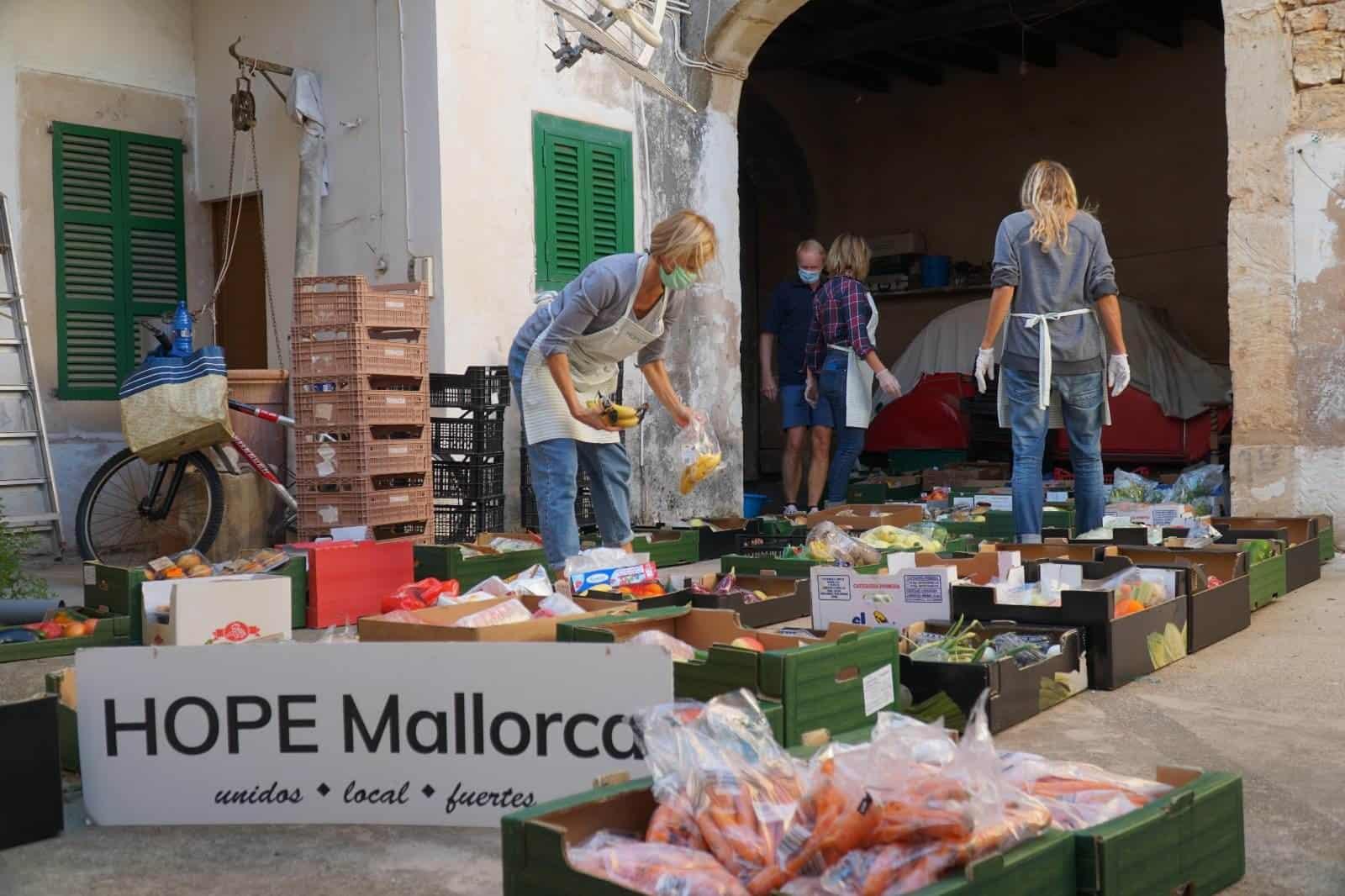 HOPE Mallorca kämpft gegen den Hunger