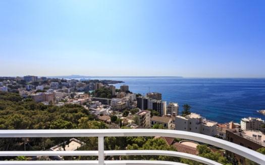 P-2374, Palma San Agustin Penthouse with Sea Views for sale